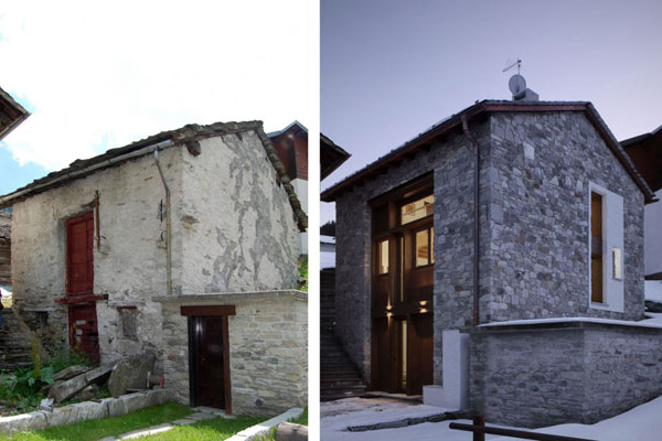 Old House Before And After Italian Style Country Home