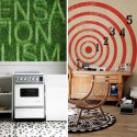 modern wallpaper patterns with letters and target image