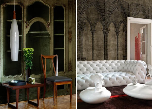 Latest wallpapers from italian walldeco modern wall - Art deco decorating ideas ...