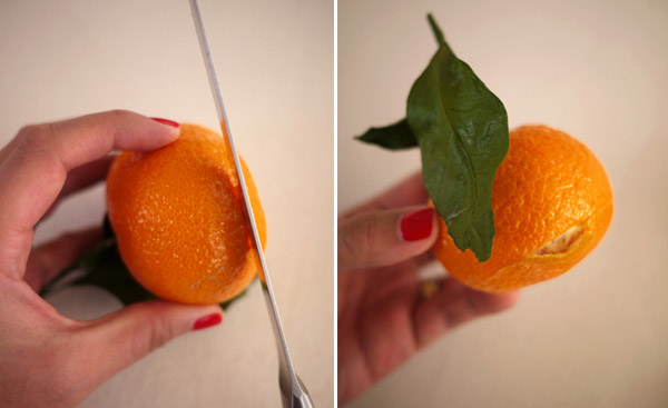 oranges for making table centerpieces