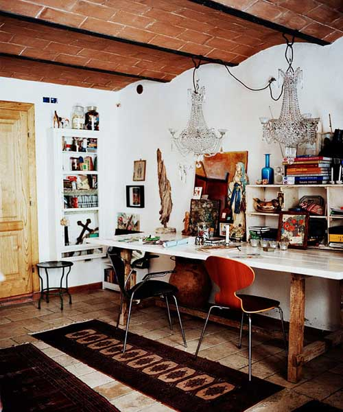 Top 5 modern interior trends in 2012 home decorating for Modern eclectic furniture