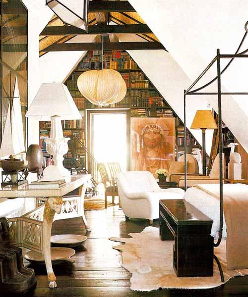 eclectic decor for modern bedroom design