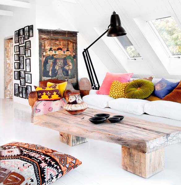 room decorating in ethnic style