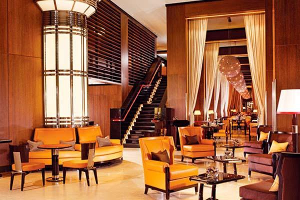 modern interior design in art deco style