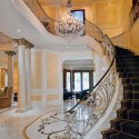 classic staircase and foyer decorating ideas