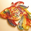 fish quilling patterns