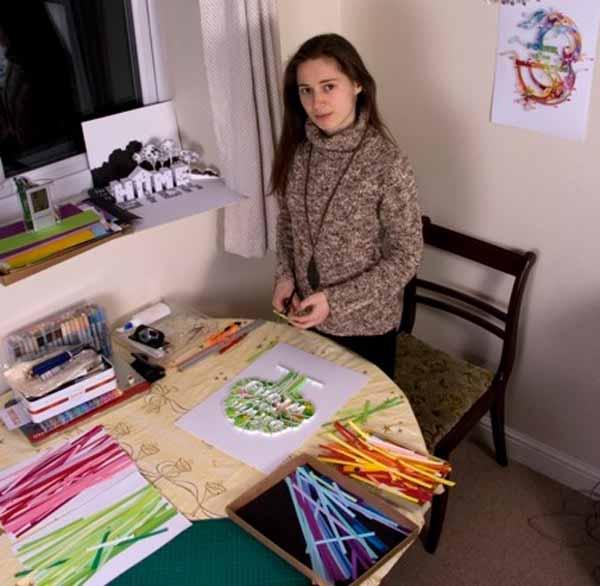 quilling artist yulia brodskaya