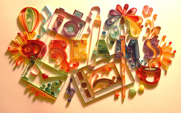 creative quilling patterns