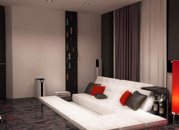 apartment-ideas-black-white-color-red-accents (5)
