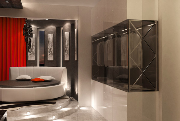 apartment-ideas-black-white-color-red-accents (7)