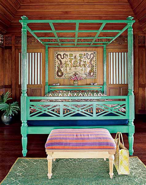 Exotic balinese decor indonesian art and bali furniture for Exotic bedroom decor