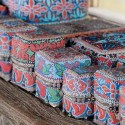 indonesian handicraft, storage boxes decorated in balinese style