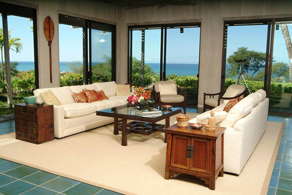 hawaiian decor and living room furniture