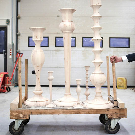 Giant Holy Candleholders By Anki Gneib Decorative