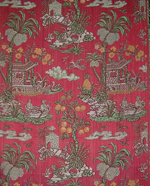 chinese decoration pattern in rococo interiors