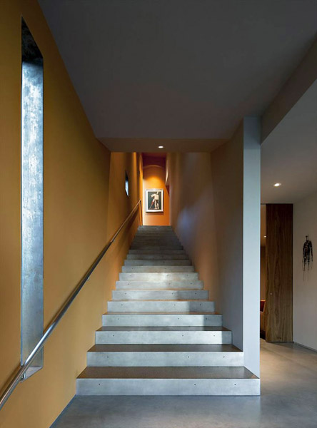 cement staircase design