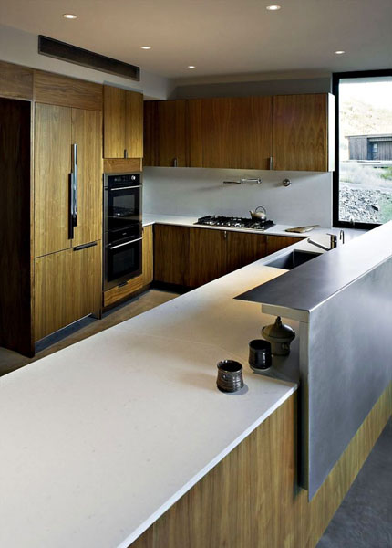 Elegant modern house in arizona jarson residence interior for Elegant residences kitchens