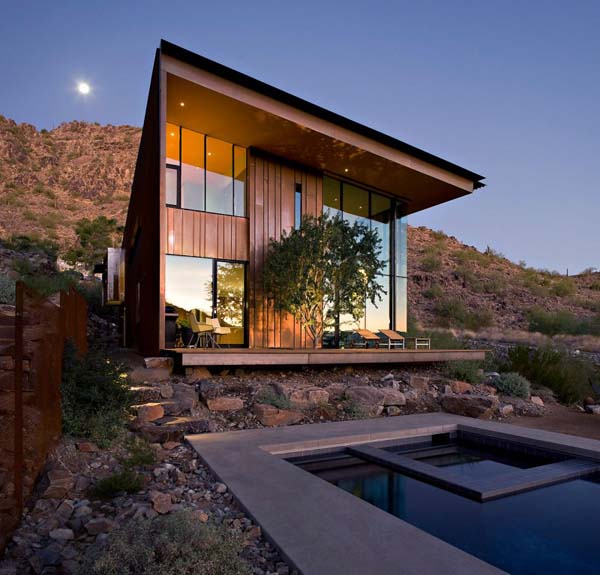 elegant modern house in arizona jarson residence interior