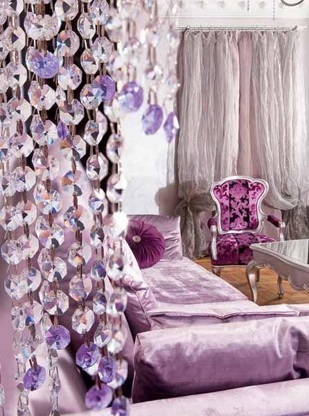 purple furniture upholstery fabrics and decorative pillows