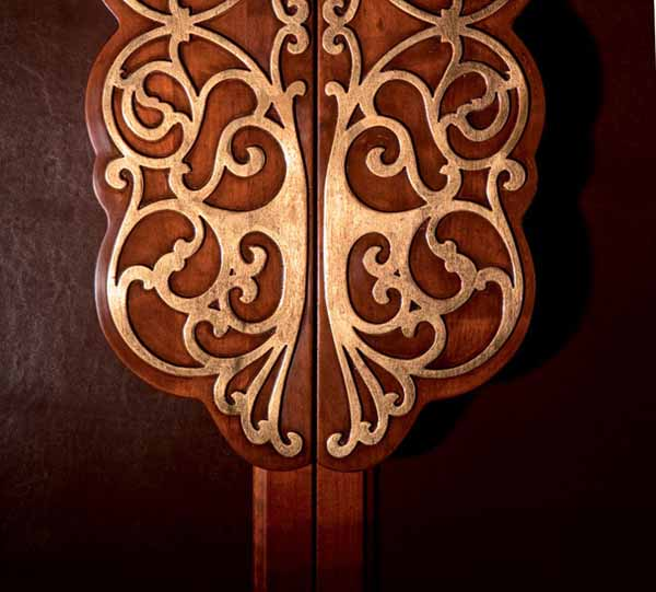 carved wood design