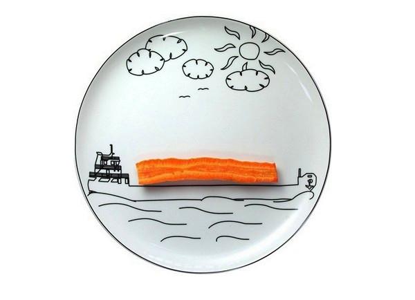 Playful Kids Plates Wonderful Gift Ideas For From Boguslaw Sliwinski
