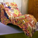 modern furniture upholstery fabric with floral print