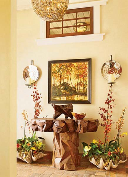 Hawaiian decor aloha style tropical home decorating ideas - Decorative items for home ...