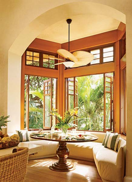 Home Decor Interior Design: Hawaiian Decor, Aloha Style Tropical Home Decorating Ideas