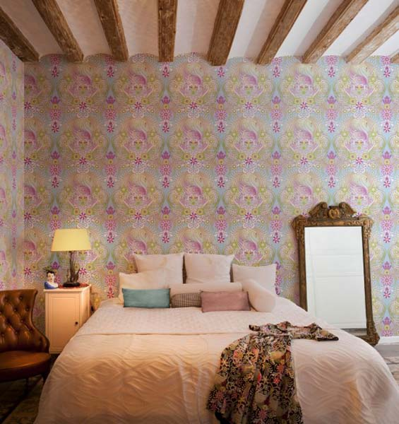 23 Floral Wallpaper Designs Decor Ideas: Beautiful Wallpapers By Catalina Estrada, Colorful Wall