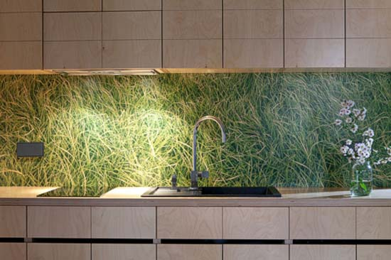 green grass images for kitchen decorating