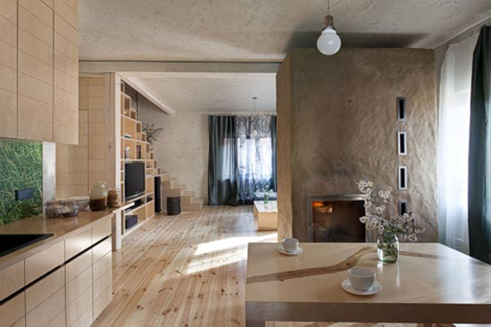 kitchen ad dining room