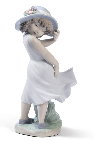 little girl figurine