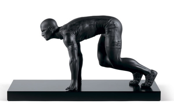 athlete figurine