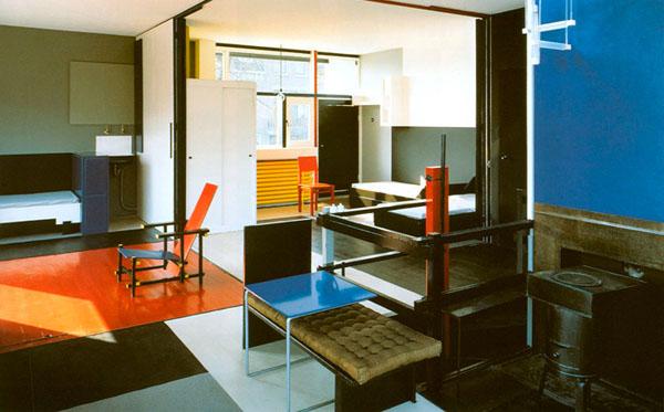 De stijl interior design sokaci