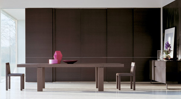 contemporary wood furniture for dining room