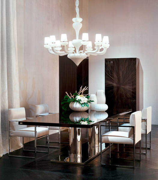 10 Dining Room Interior Design With Modern Dining Tables 3: 10 Modern Dining Furniture Design Trends, Dining Room
