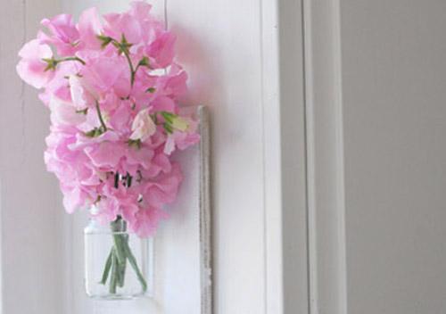 Flower Ideas For Home Decoration: Hanging Vases For Home Decorating, Craft Ideas, DIY