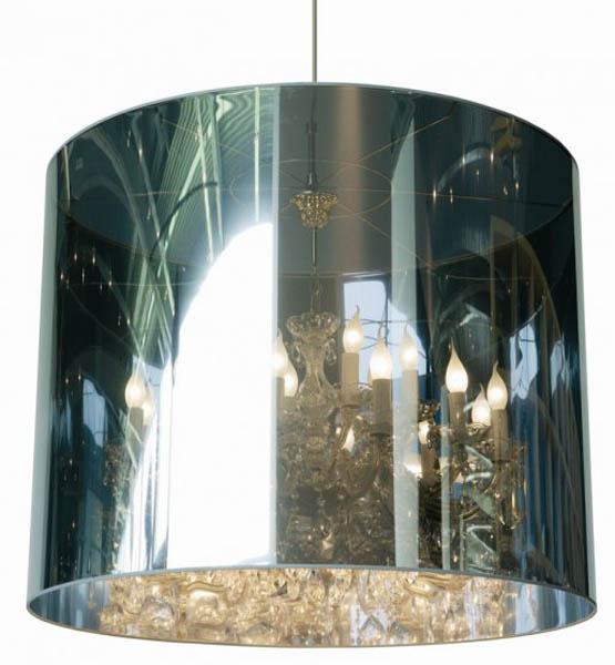 Modern Lighting Moooi Mirrored Lampshades