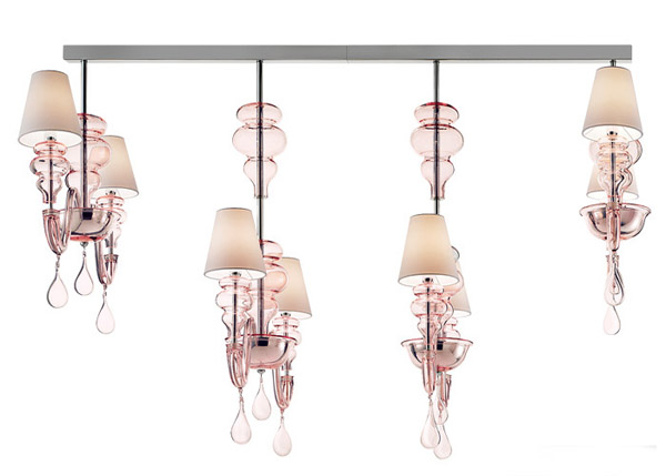 unique lighting design from italian designers