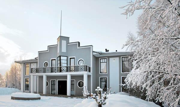 Classic house exterior design house decor for Exterior classic design