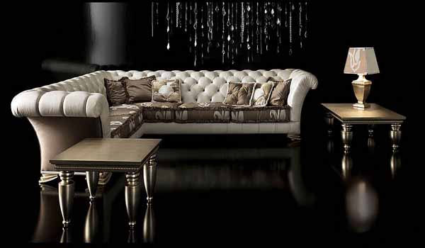 Neo baroque furniture by paolo lucchetta modern furniture for Salon baroque moderne