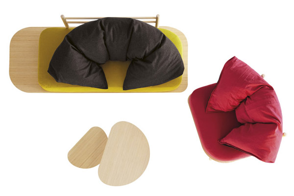 Disfatto Furniture Collection By Denis Guidone Modern