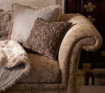 Modern Living Room Sofa Cushions And Throw Luxurious Home Fabrics And Comfortable Interior Decorating Ideas