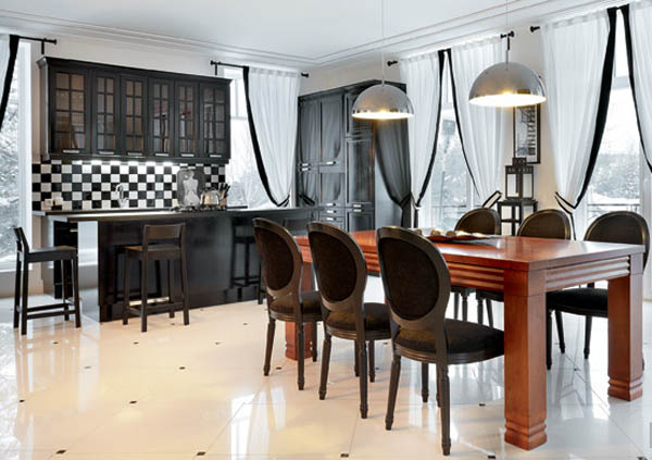 kitchen and dining room decorating