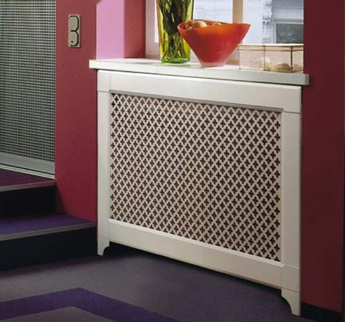 heater cover for window decoration