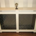 wooden cover for wall heater