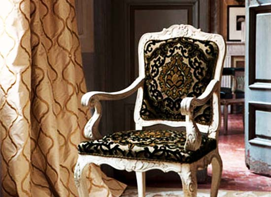 furniture upholstery fabrics with ethnic motifs