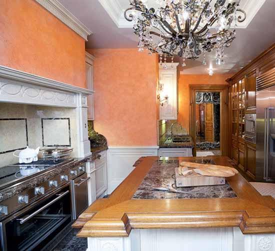 Interior Decorating In Classic Style Premier Apartment In