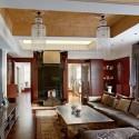 living room design with ethnic interior decorating ideas