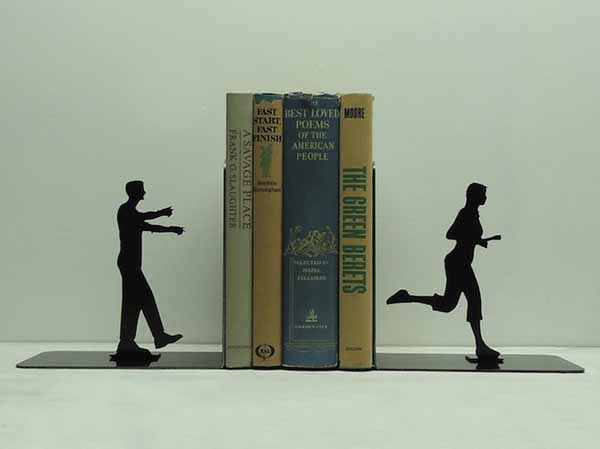 sport themed bookends